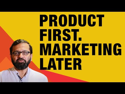 """""""Focus on the product first. Marketing comes later"""" - Vineet Arya, Outsourced CMO"""