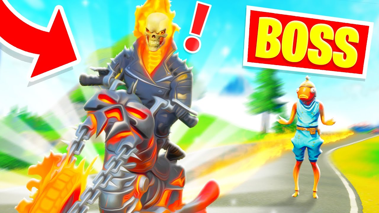 Download J'imite le BOSS GHOST RIDER !! Pour TROLL des NOOBS !! ( Boss Fortnite )