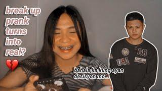 break up prank kay sky (ako pa yung umiyak)   cm and sky stories