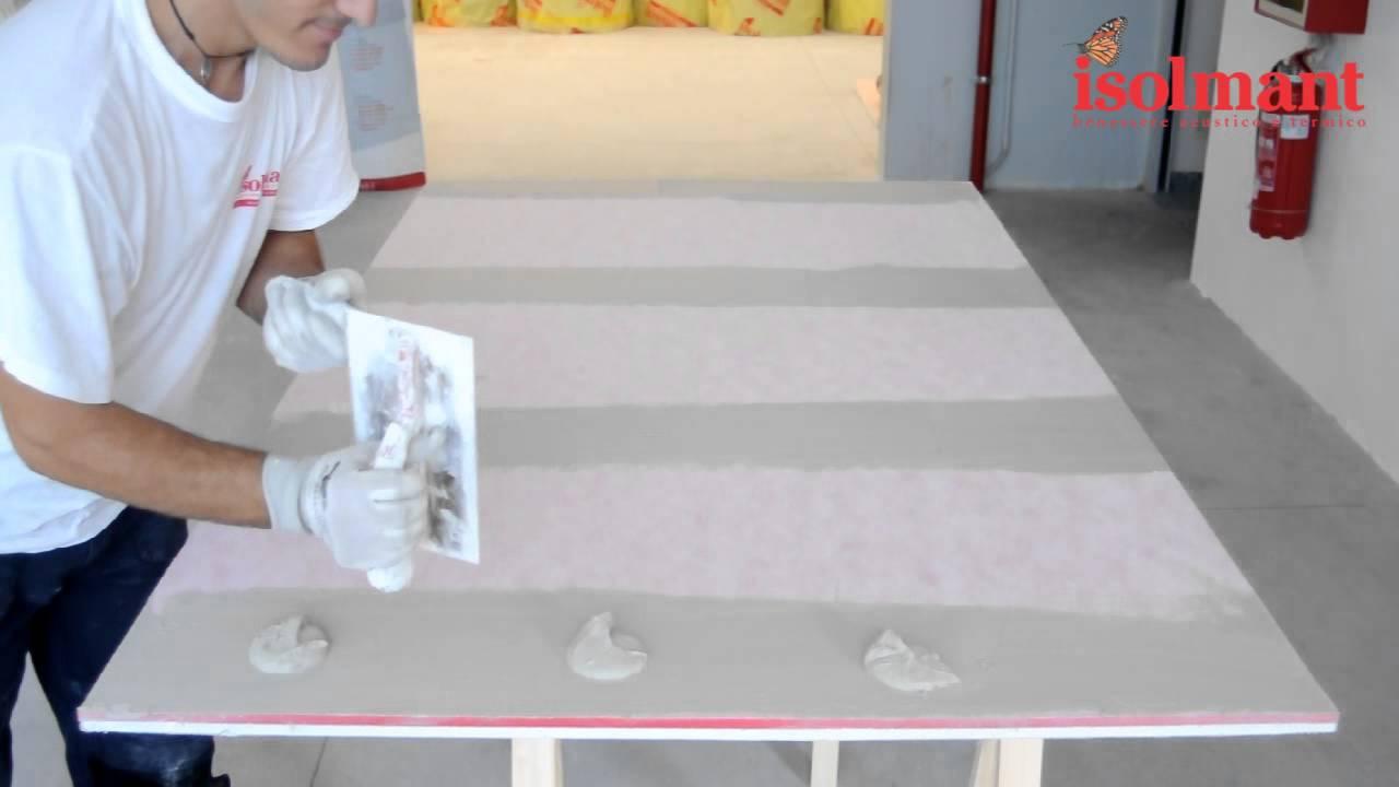 Montaggio pannelli cartongesso isolanti