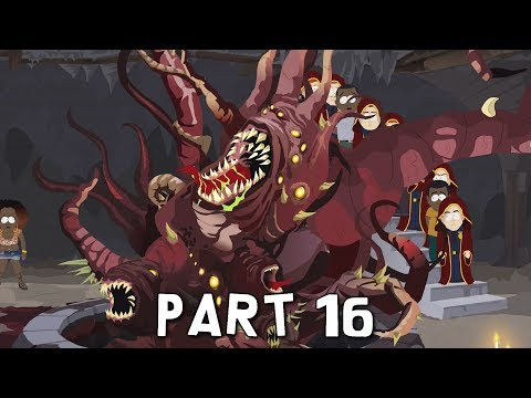 SOUTH PARK THE FRACTURED BUT WHOLE Walkthrough Gameplay Part 16 - Lair Boss (PS4 Pro)