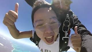 Aram Kim - Tandem Skydiving Video - Skydive Jurien Bay