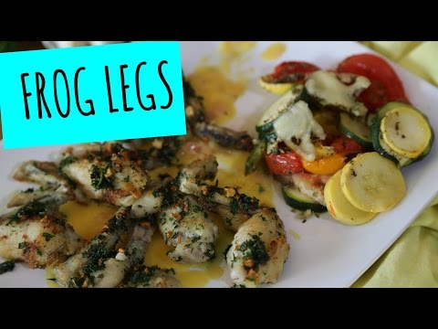 Frog Legs à la Provençal - La Cooquette - Mardi Gras