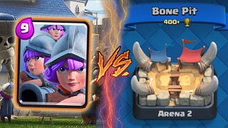 Clash Royale | THREE MUSKETEERS TROLLING ARENA 2! | THE THREE HOES (Drop Trolling #10)