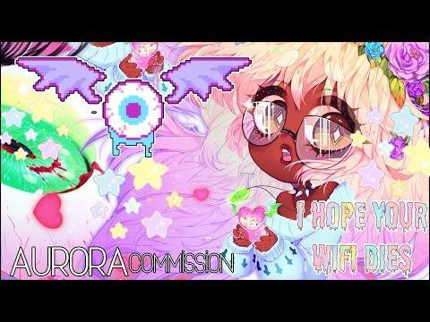 Aurora - Speedpaint [Pastel Goth]