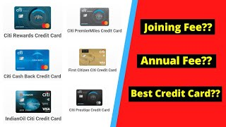 Citibank Credit Cards   All About Different Citibank Credit Cards   Benefits