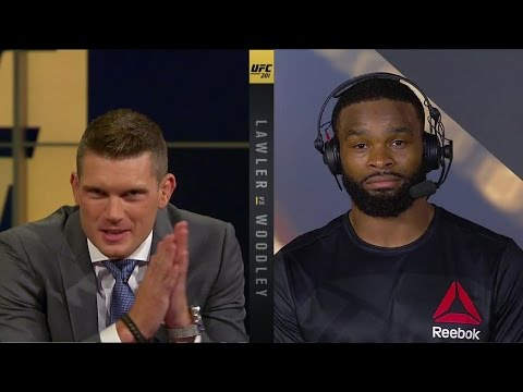 Tyron Woodley wants to fight Nick Diaz at UFC 202