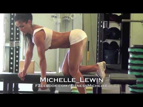 MICHELLE LEWIN - BTS Photoshoot for Muscular Development