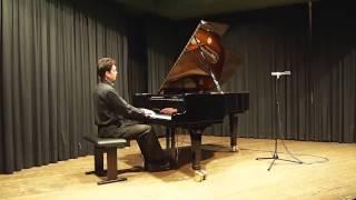 Johannes Gaechter: Fauré - Ballade Op.19, F-Sharp Major / Fis-Dur, Live in Asperg