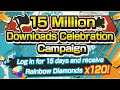 FREE 150 GEMS! FREE MULTI Banner Scouts! 15 Million Download Celebration! One Piece Bounty Rush OPBR