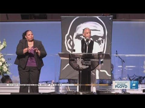 Rev. Al Sharpton delivers powerful eulogy at George Floyd funeralKaynak: YouTube · Süre: 41 dakika33 saniye