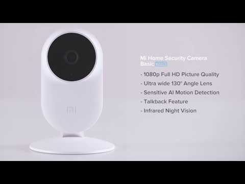 How to install the Mi Home Security Camera Basic 1080p - YouTube