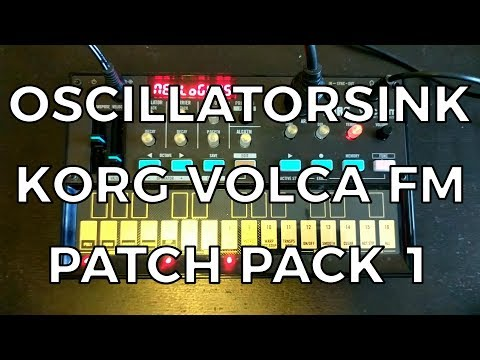 Korg Volca FM Patch Pack 01 - FREE!