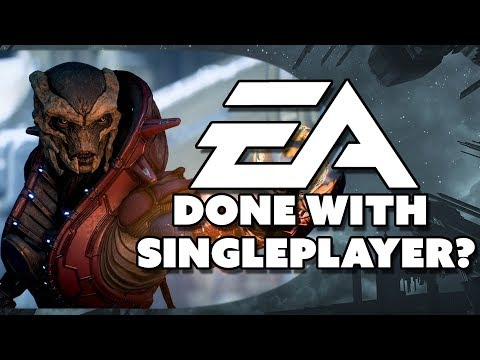 EA Done With Single Player Games? - The Know Game News