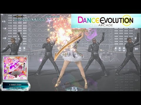 [ダンエボ] A Geisha's Dream Playthrough / Dance Evolution AC / 댄스 에볼루션 아케이드