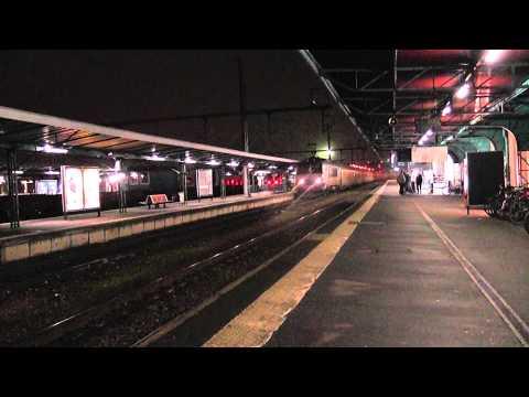 BB 15055 à son arrivée en gare de Caen