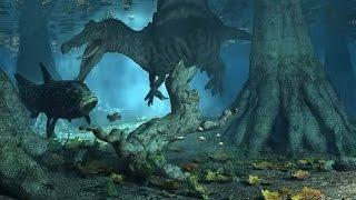 Земля гигантов: Крупнейший динозавр убийца!!!