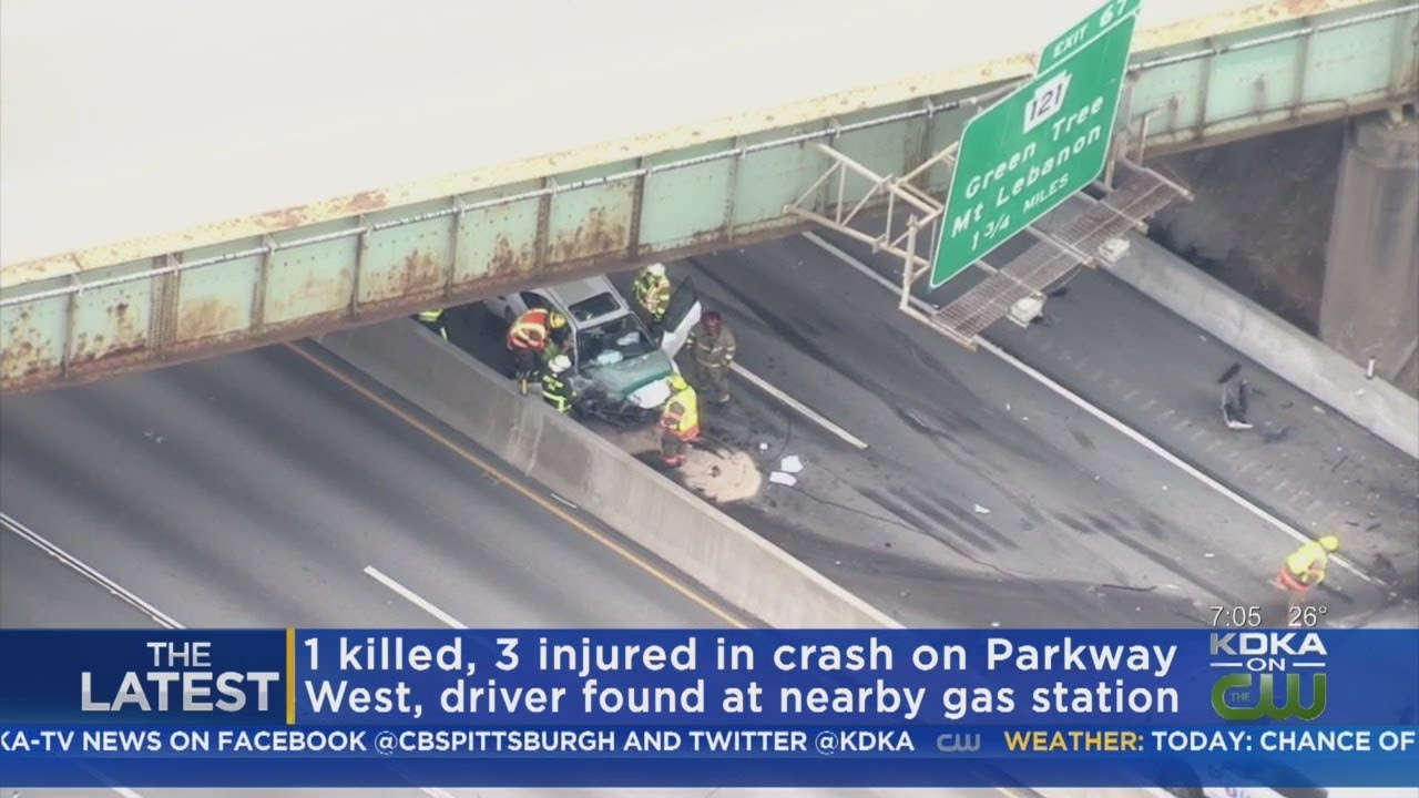 Accident On Parkway West Yesterday