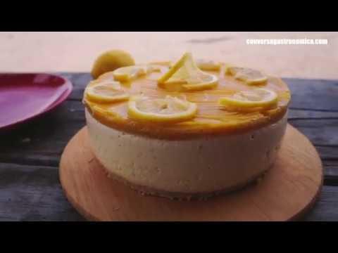 Torta Gelata de Limão Siciliano e Maracujá