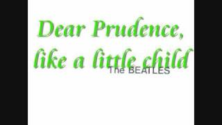The Beatles- Dear Prudence