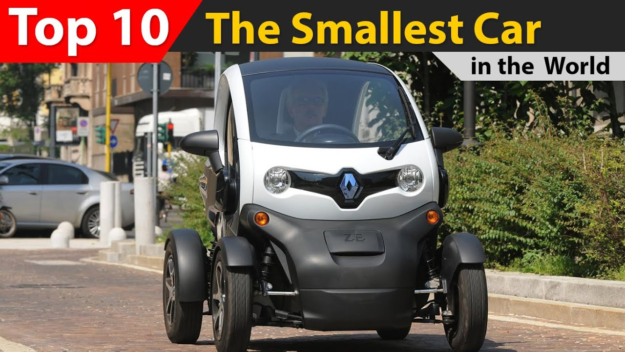 top 10 the smallest car in the world youtube. Black Bedroom Furniture Sets. Home Design Ideas