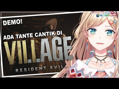 【Resident Evil Village Demo】Let's Try Surviving!【NIJISANJI ID | Layla Alstroemeria】