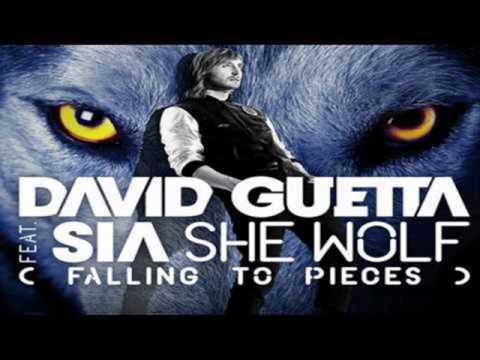 David Guetta - She Wolf Falling To Pieces ft. Sia -  Karaoke