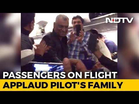Cheers, Claps For Parents Of Indian Air Force Pilot Abhinandan Varthaman On Board Flight To Delhi