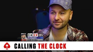 Poker Etiquette - Oliver Calls Clock on Daniel Negreanu - PokerStars