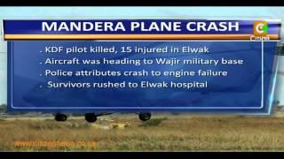 Military Plane Crash In Elwak