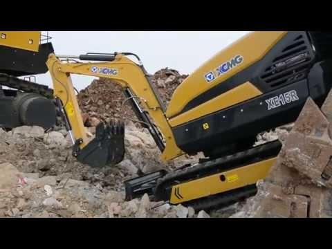 XCMG Launches Our First Fully Remote-Controlled Intelligent Excavator