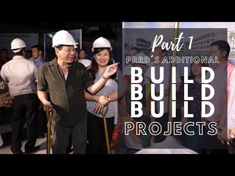 Part 1 | Duterte's Additional Build Build Build Project Projects