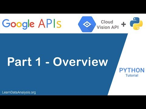 Google AI - Vision API Python Tutorial (Part 1): Introduction and Overview thumbnail