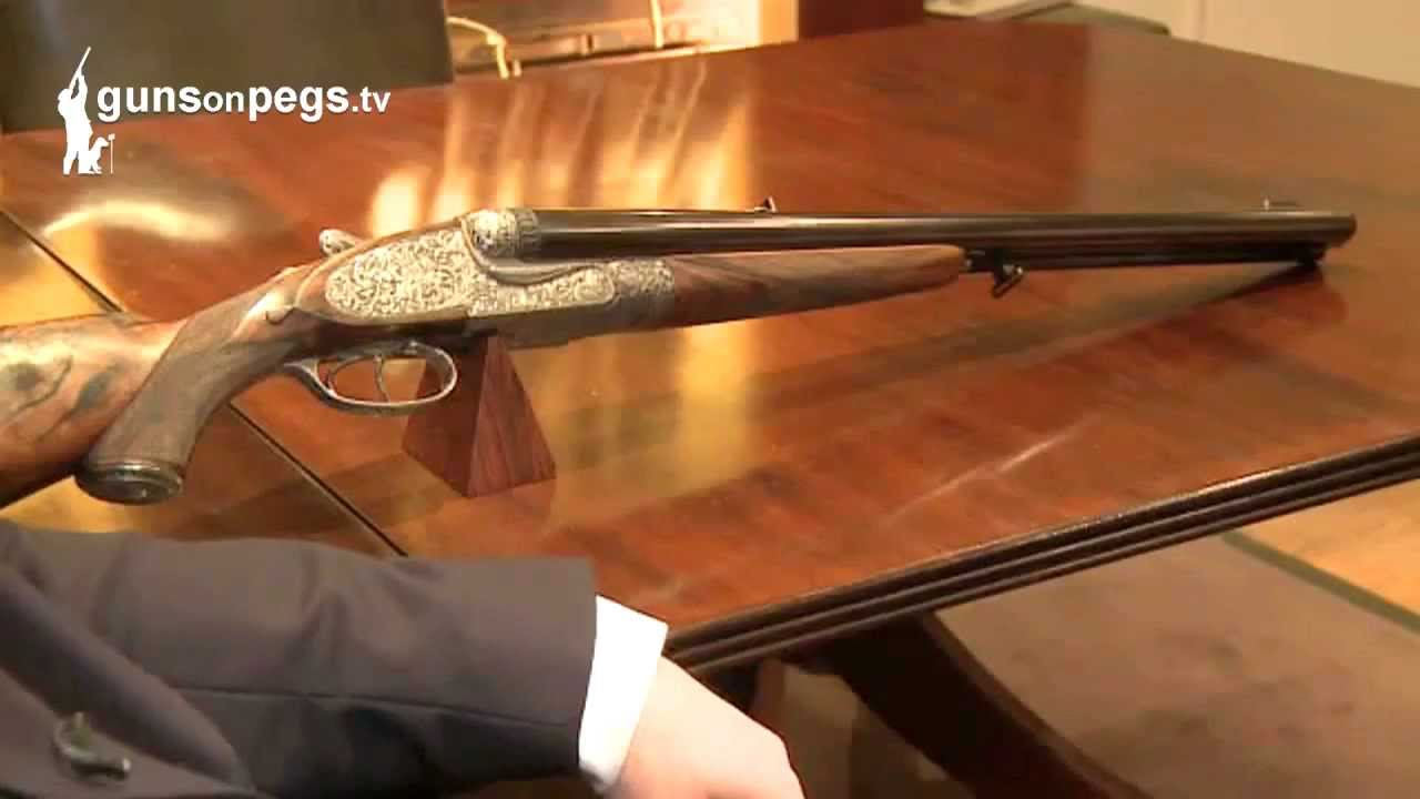 Holland And Holland >> Holland Holland A Thousand Grain Bullet Firing Rifle Gunsonpegstv