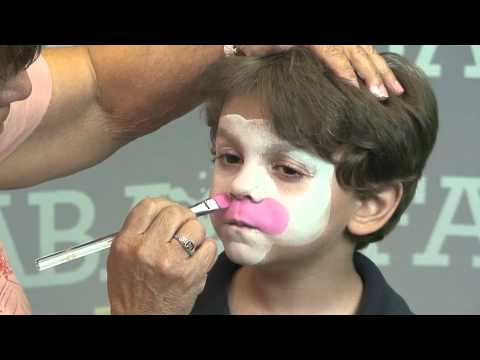 Mama Cow - Face Painting Design - YouTube