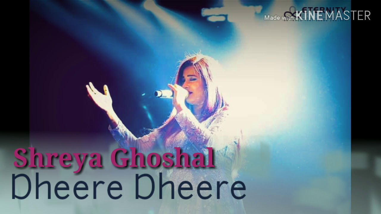 Dheere Dheere|Shreya Ghoshal|FemaleVersion|With Luv...Tumhara
