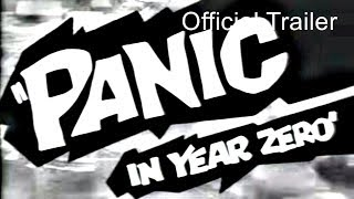 Panic In The Year Zero (1962) Trailer