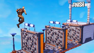 SURVIVE The DANGEROUS Obstacle Course! (Fortnite Parkour)
