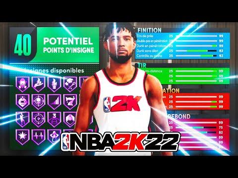 NBA 2K22 - LE MEILLEUR BUILD MENEUR DE JEU