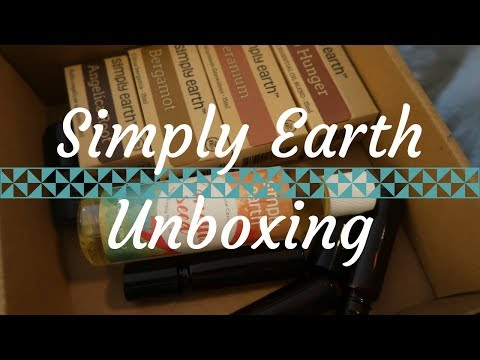 Natural Skincare! Simply Earth Unboxing