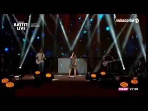 Giusy Ferreri - Ti porto a cena con me - Radio Norba BATTITI LIVE 2015