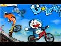juego carrera de bicicletas de Doraemon para niños