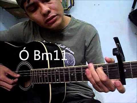 ... De Tu Gloria - Jesus Adrian Romero - Tutorial de guitarra - YouTube