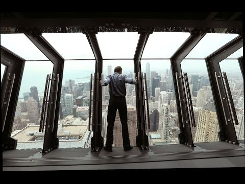New 'Tilt' Ride in Hancock Tower