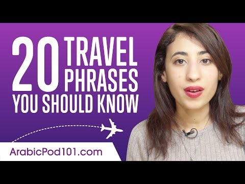 20 Travel Phrases You Should Know in Arabic