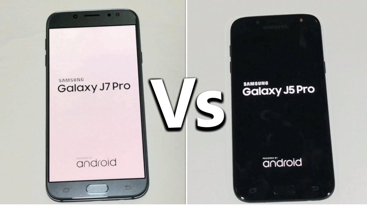 Samsung Galaxy J7 Pro 2017 Vs Galaxy J5 Pro 2017 - Speed Test ...
