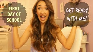First Day of School Get Ready With Me! Thumbnail