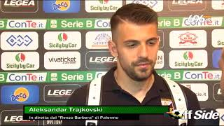 Palermo-Avellino 3-0: il commento di Trajkovski
