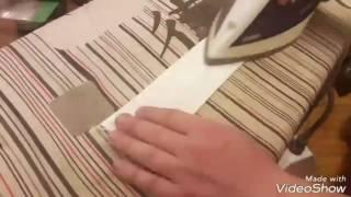 Как сделать бантик бабочку