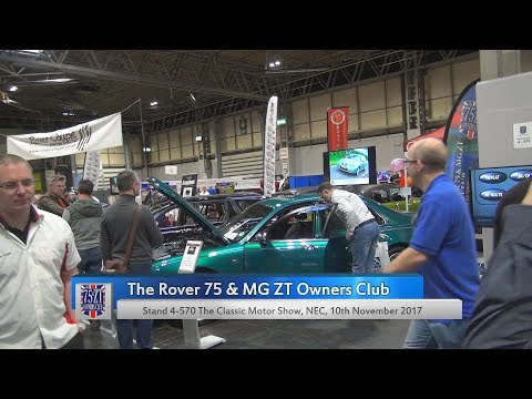 The Rover 75 & MG ZT Owners Club @ The Classic Motor Show 2017